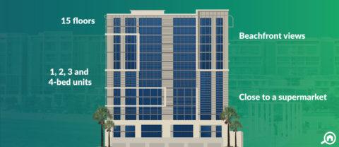 Al Zeina Building B, Al Raha Beach