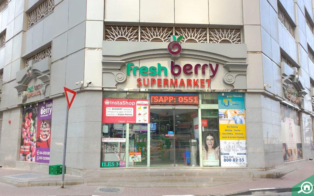 fresh berry supermarket