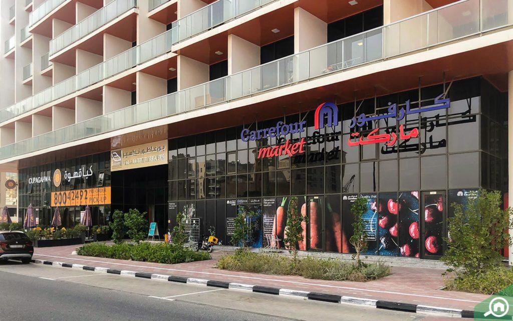 Carrefour Market, Binghatti Terraces