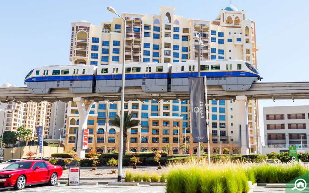 Picture of Palm Jumeirah Tram