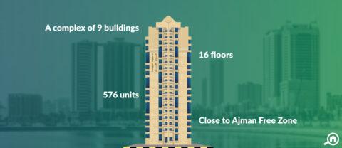 Al Khor Towers, Ajman Downtown