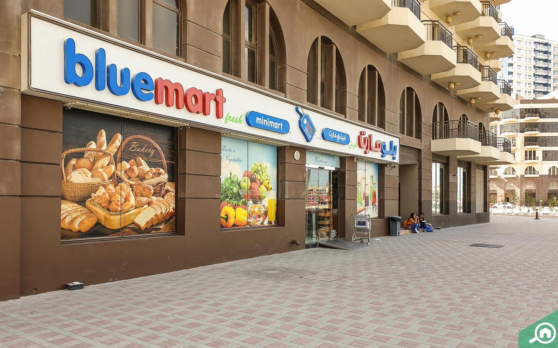 BlueMart located near Vincitore Benessere