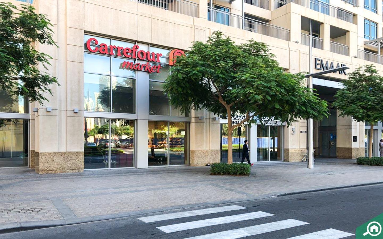 Carrefour in Burj Views