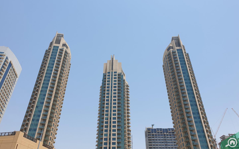 Burj View complex towers