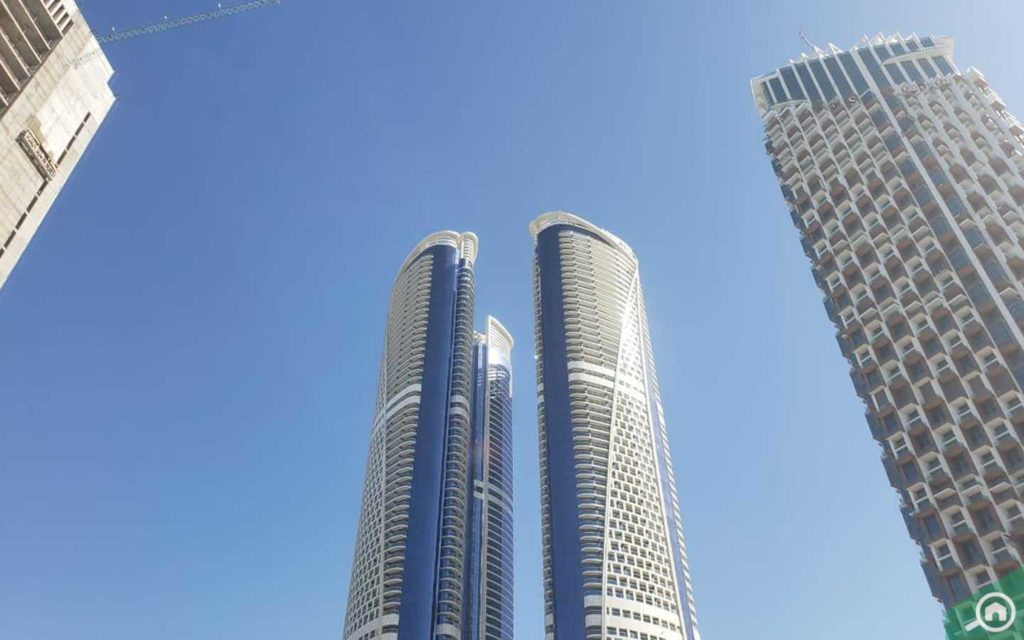 four towers in DAMAC Paramount Towers
