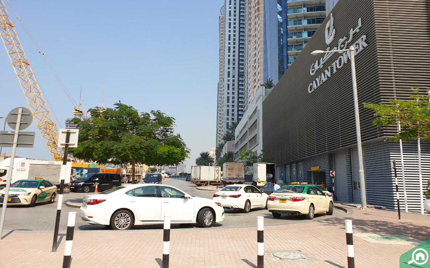 cayan tower entrance