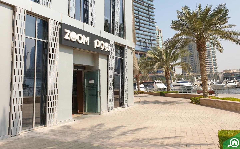 zoom supermarket near cayan tower