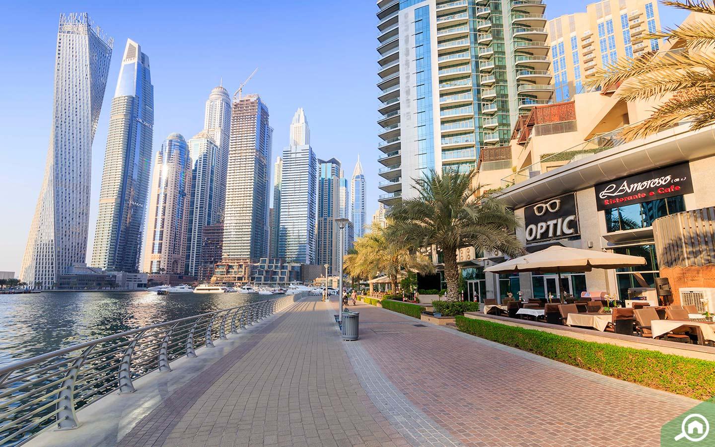 مناطق سياحية في دبي