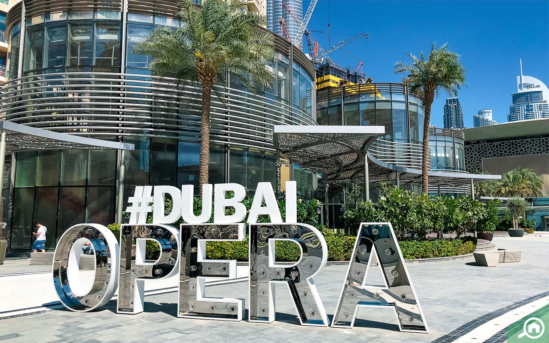 dubai opera in downtown dubai