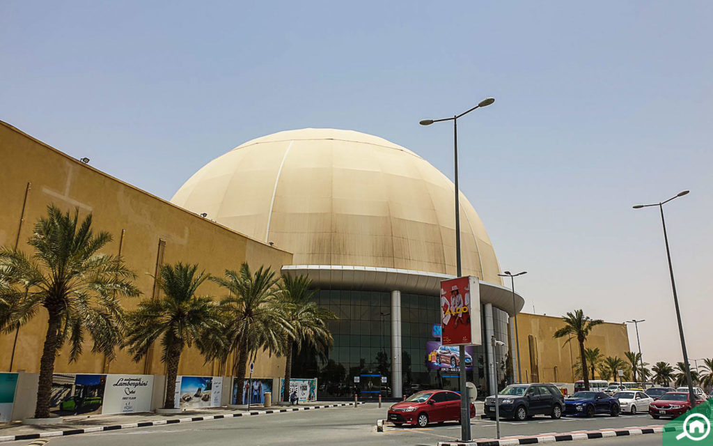 Dubai Outlet Mall front view
