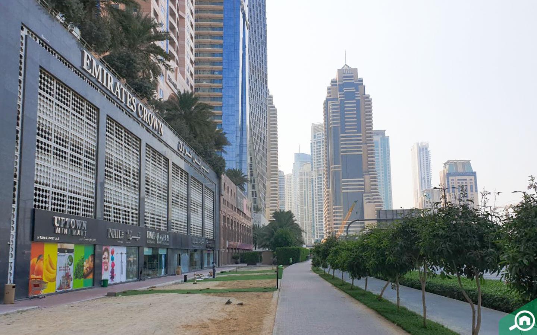 emirates crown street view