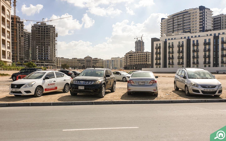 La Fontana Apartments Parking Space