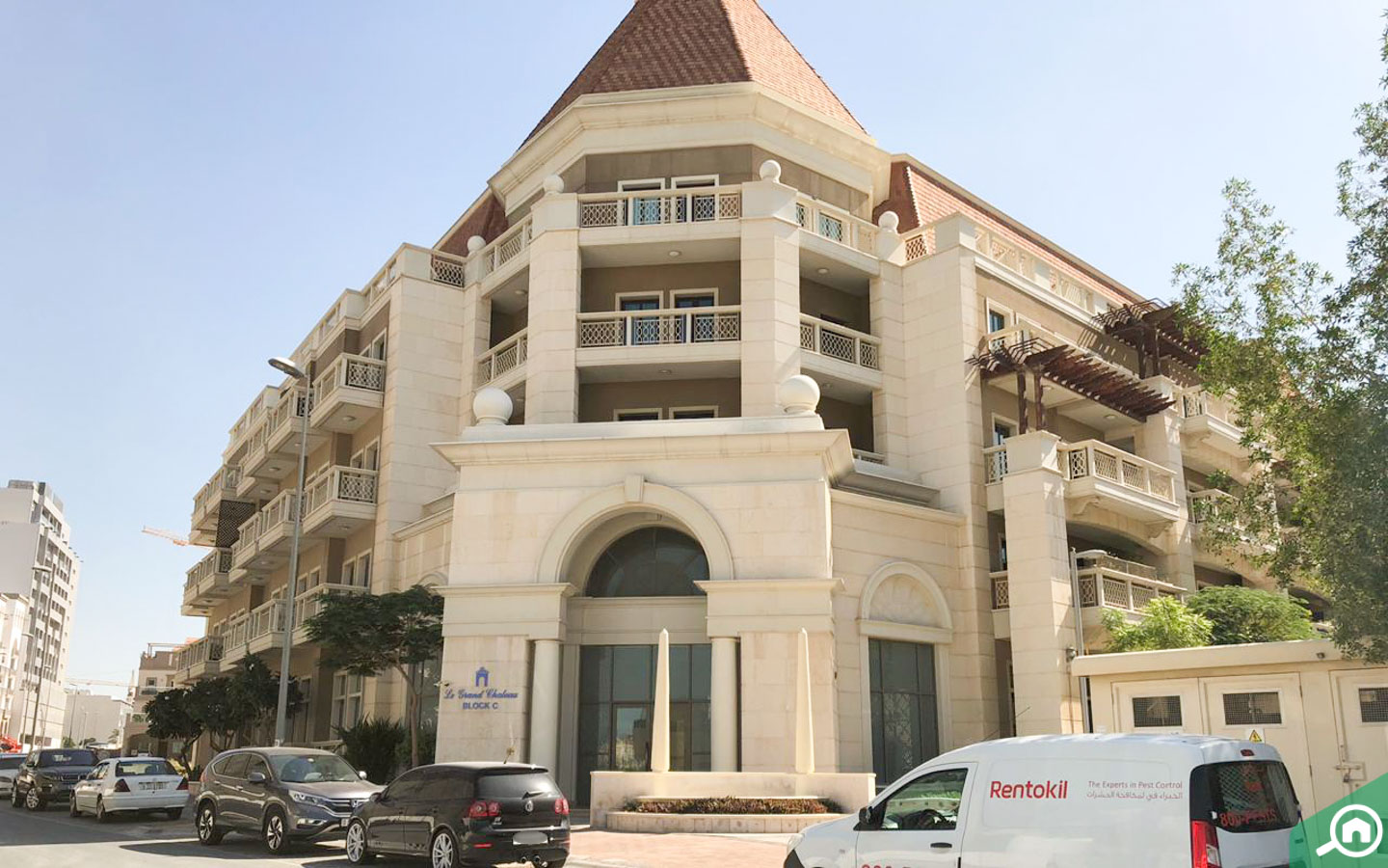apartments in le grand chateau