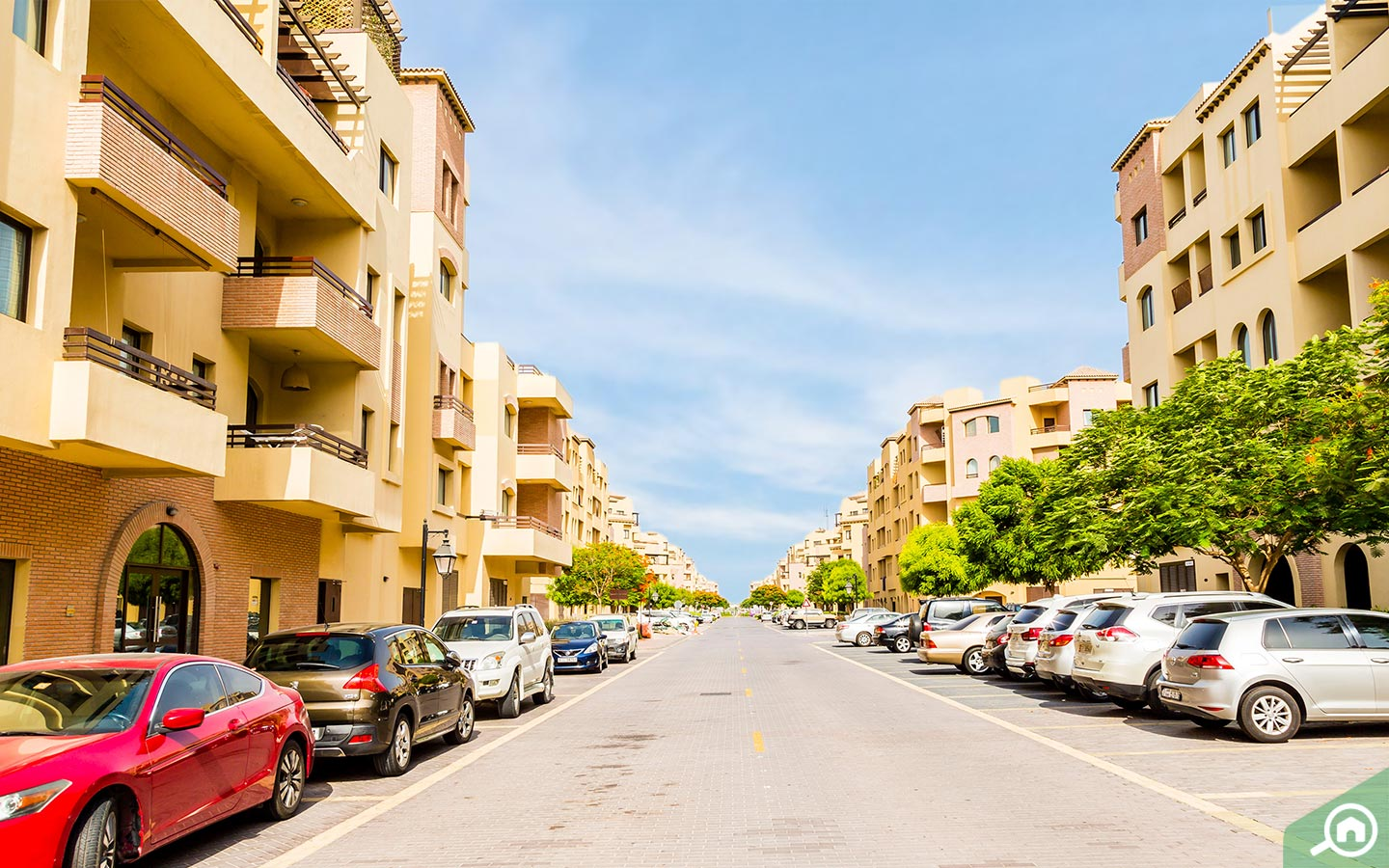 parking spots for apartments in mirdif hills