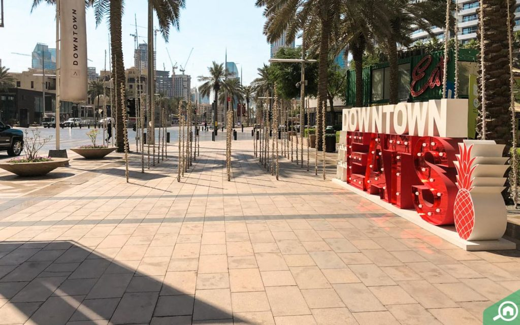 restaurants near address residence fountain views downtown dubai