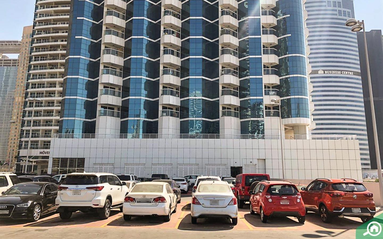 Parking in New Dubai Gate 2