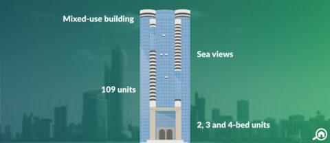 Silver Tower, Corniche Road