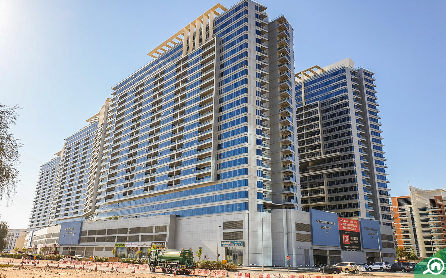 Sky Courts Towers Dubailand