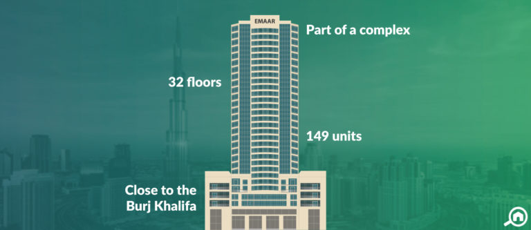The Lofts Central Tower, Downtown Dubai