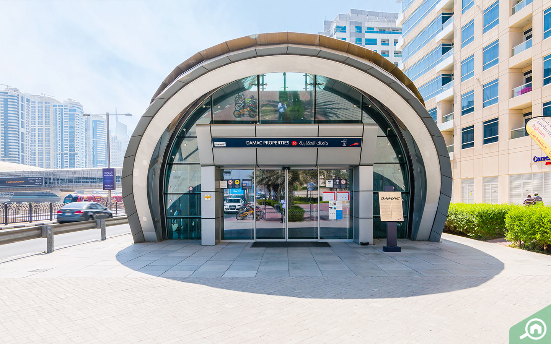 محطة مترو داماك العقارية