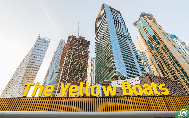 القوارب الصفراء