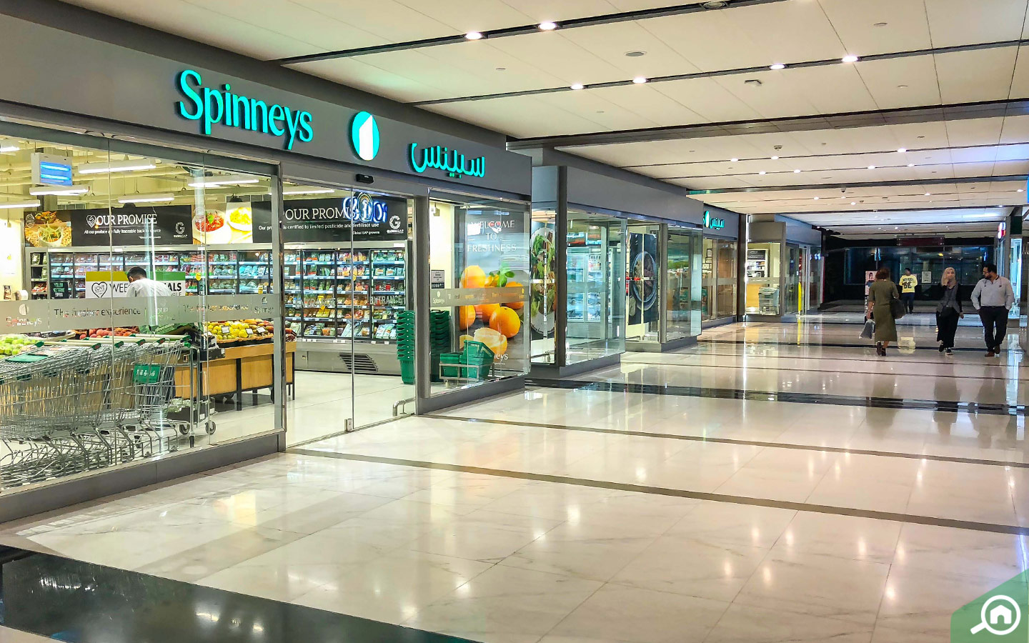 Spinneys Supermarket in DIFC