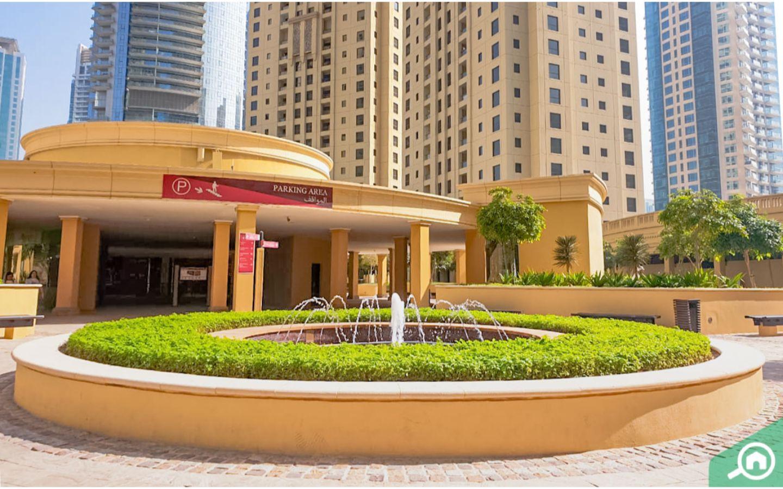 Al Sadaf parking area