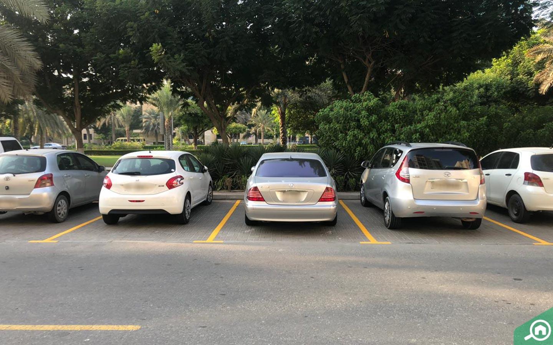 Parking spaces near Al Samar 1