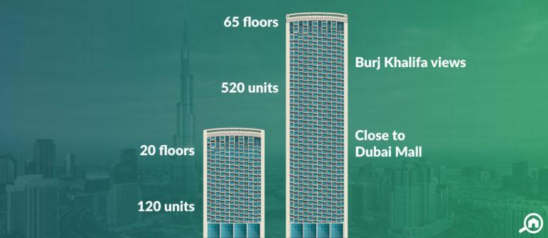 Burj Vista, Downtown Dubai