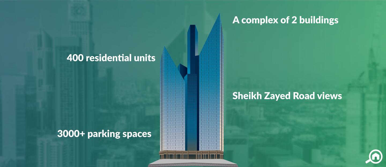 Central Park Towers, DIFC