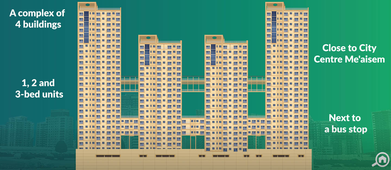 Centrium Towers, Dubai Production City (IMPZ)