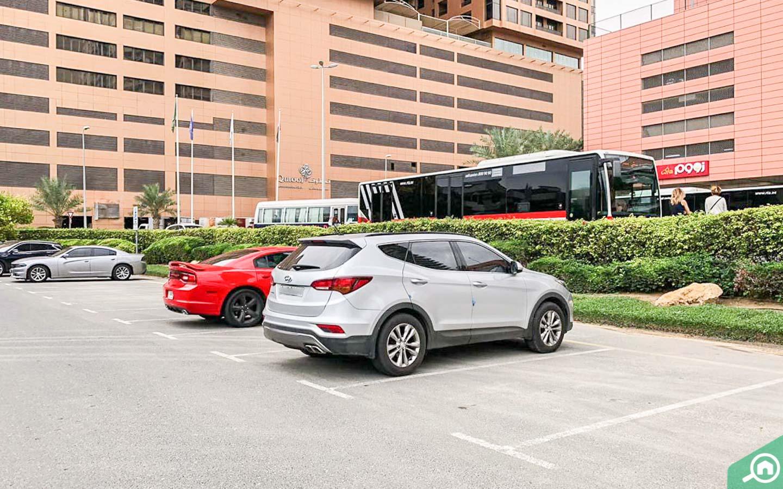 Dubai Jewel Tower Parking spaces