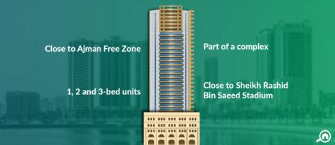Horizon Tower A, Ajman Downtown