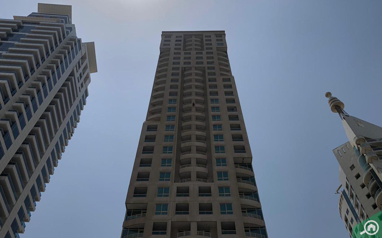 Manchester Tower exterior facade