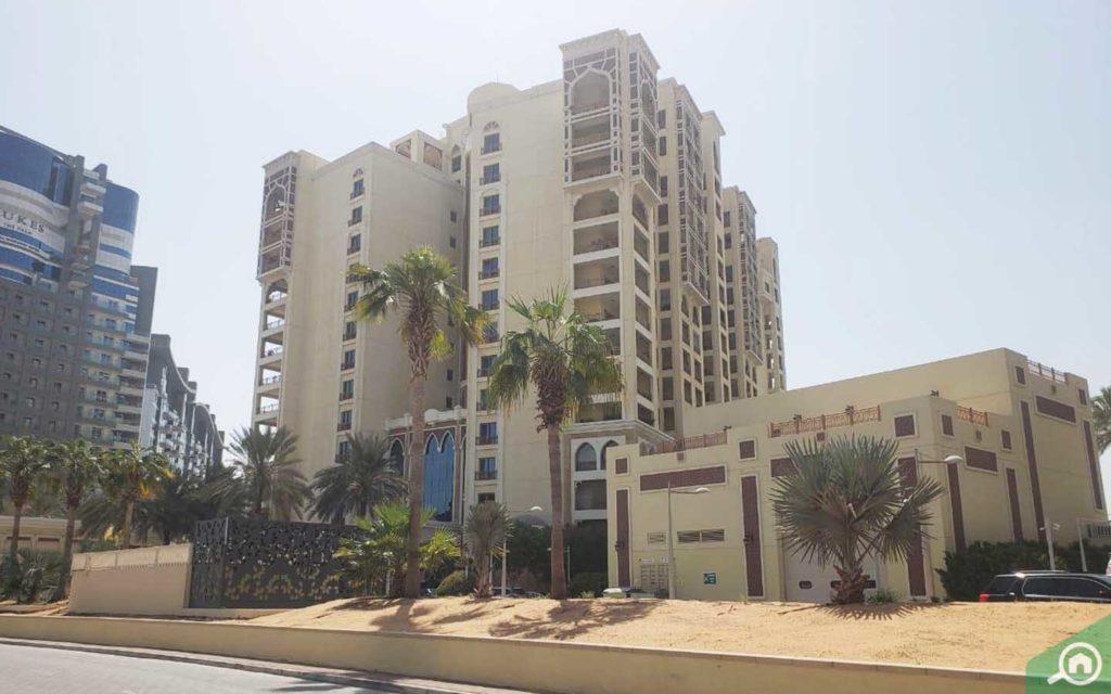 Marina Residences in Palm Jumeirah