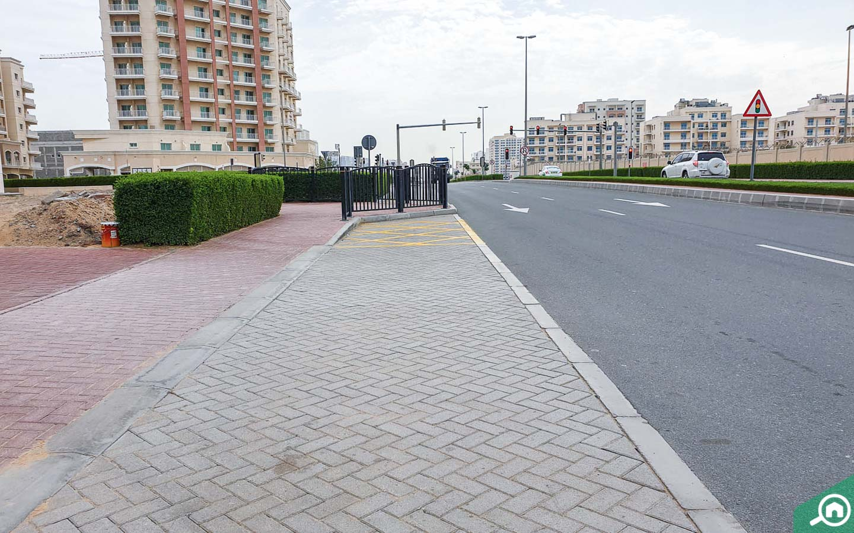 street view from Mazaya 12