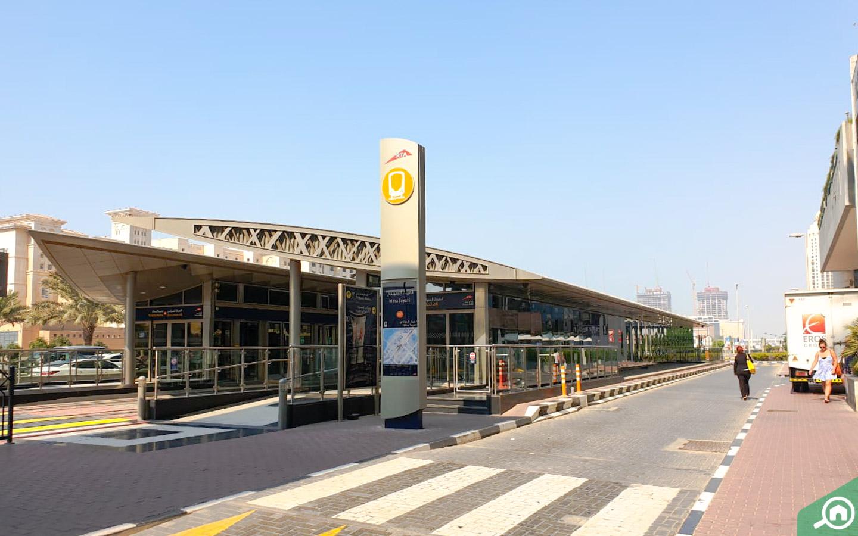 Metro station near Ocean Heights