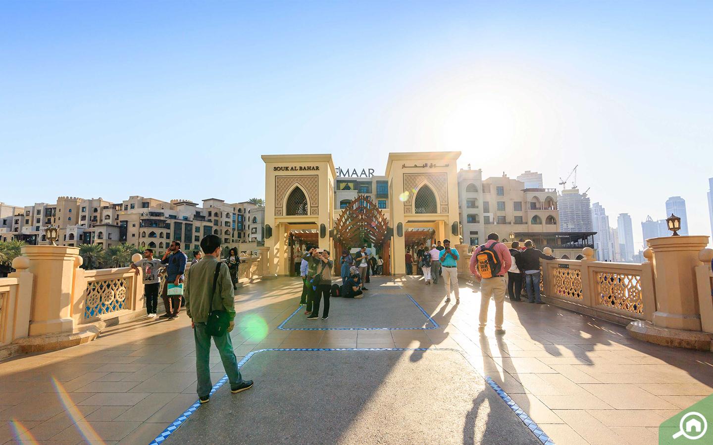 dubai mall near the lofts