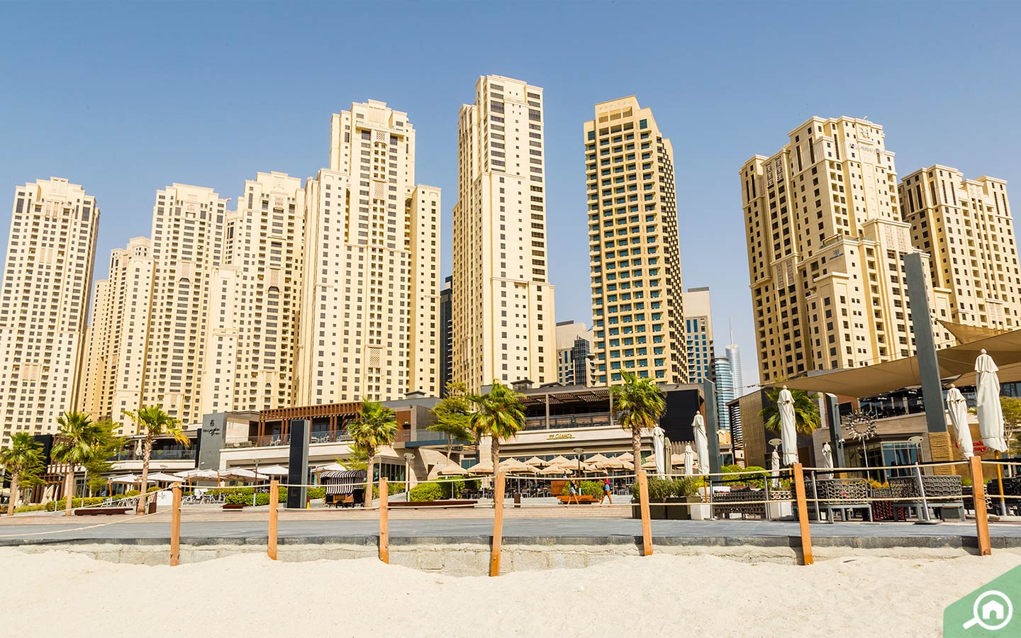 jbr beach near sadaf 5