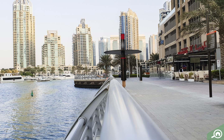 Facilities near Dubai Marina Towers