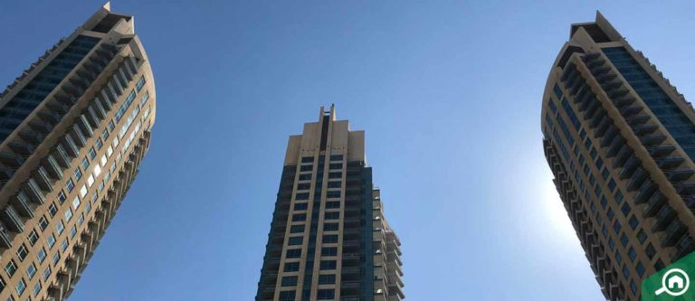 برج فيوز، داون تاون دبي