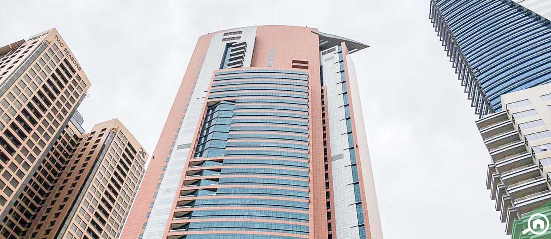 Dubai Jewel Tower Frontal View