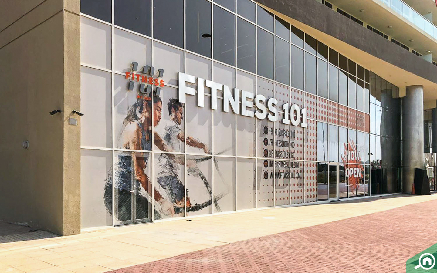 Fitness facility in Damac Tower 108