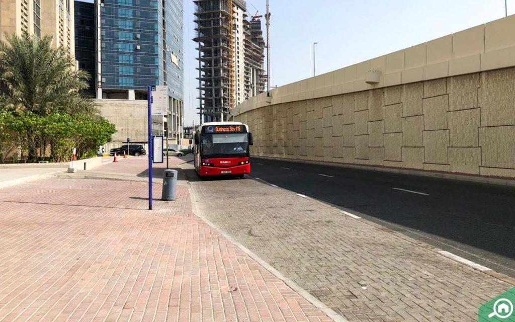 محطات الباصات في مساكن هاملتون