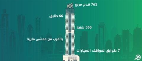 برج ماج 218، دبي مارينا