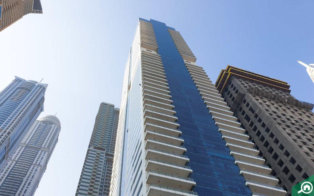 برج ماج 218 في دبي مارينا
