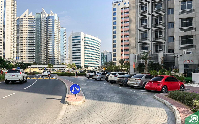 street view of Oasis Residence, Tecom