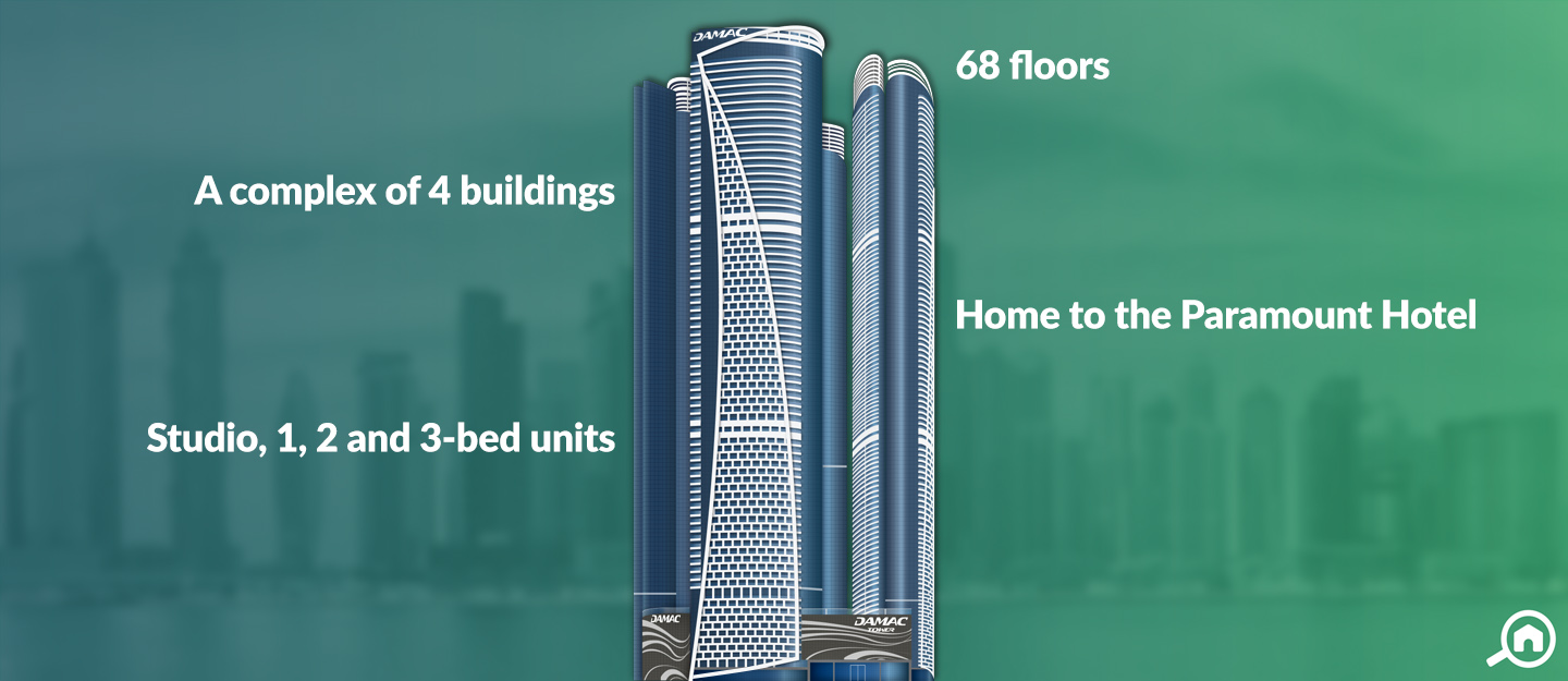 DAMAC Towers by Paramount, Business Bay