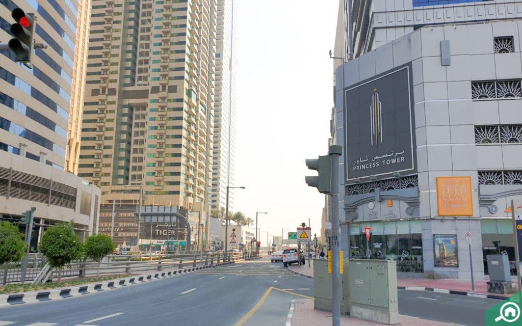 شارع قرب برج الأميرة