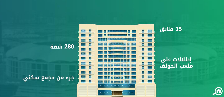 رويال ريزيدنس 1، مدينة دبي الرياضية